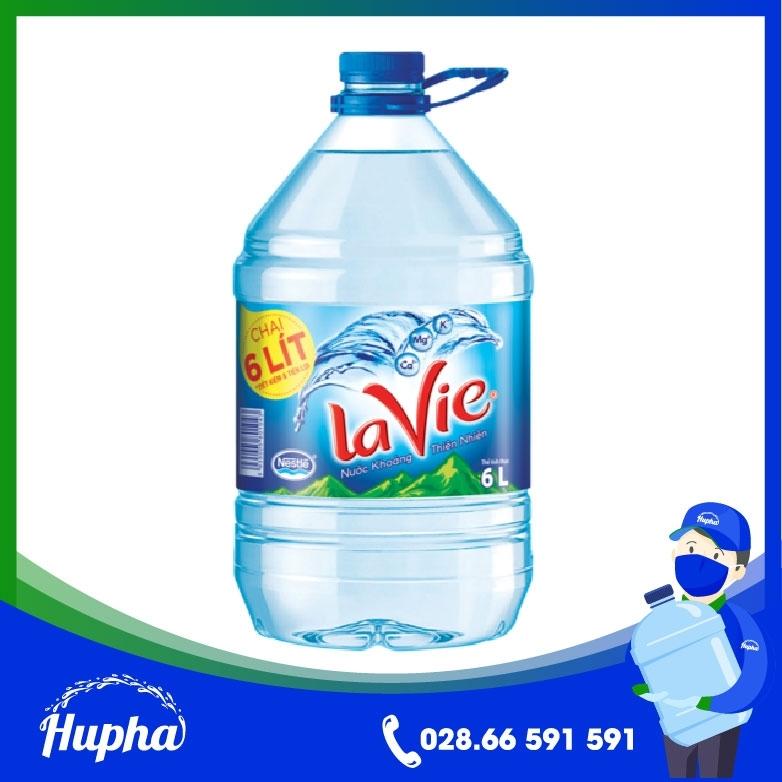 Nước Khoáng Lavie 5L